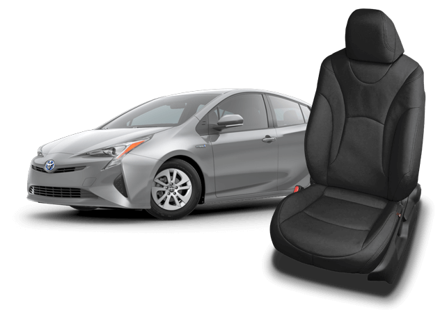 Toyota Prius Full Set Luxury Padded Leather Look Car Seat Covers
