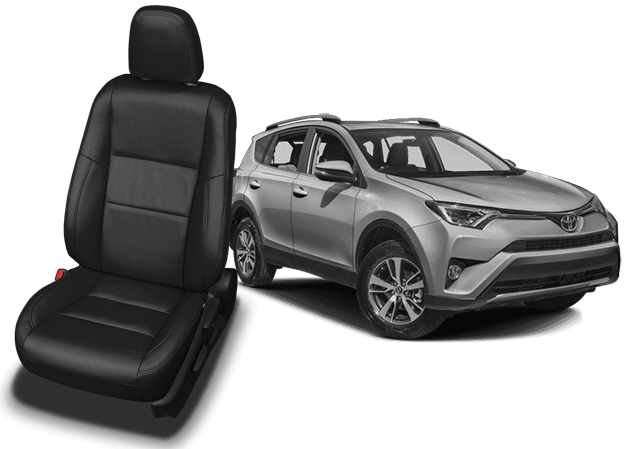 Toyota Rav4 Leather Seats Seat Covers Seat Replacement Katzkin