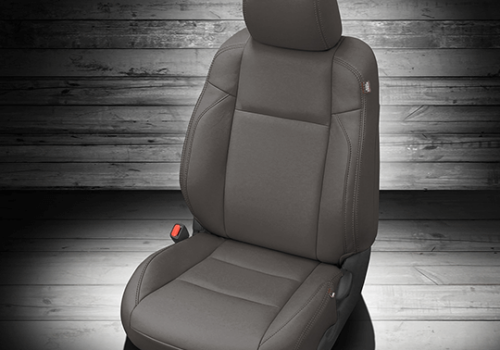 Toyota Tacoma Gray Leather Seat