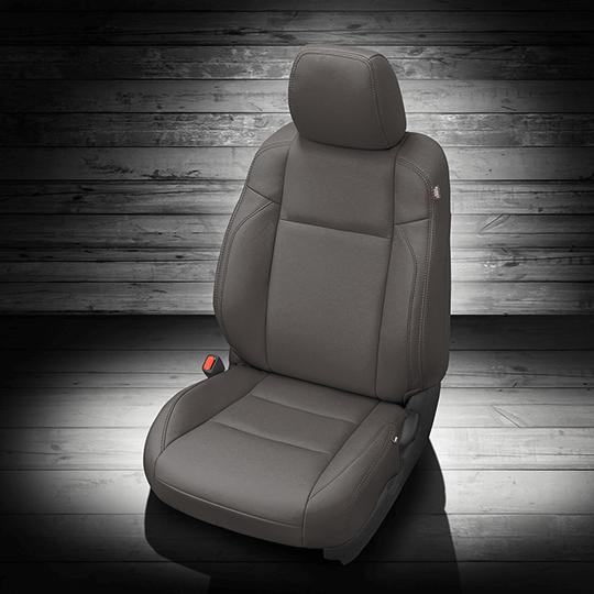 Toyota Tacoma Gray Leather Seat
