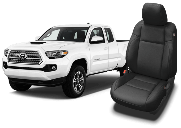 Toyota Tacoma Leather Seats Interiors Seat Covers Katzkin