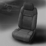 Toyota Tundra Dark Grey Leather Seats