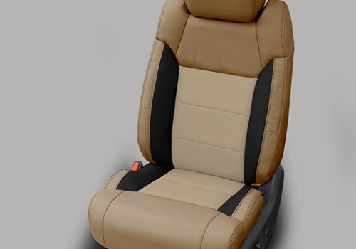 Toyota Tundra Beige Leather Seats