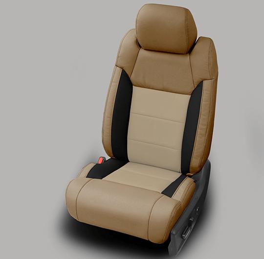 Toyota Tundra Beige Leather Seats