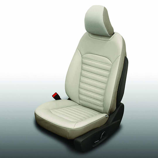 Ford Fusion Beige Leather Seat