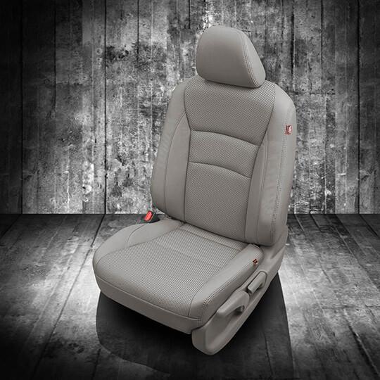 Honda Pilot Grey Leather Seat