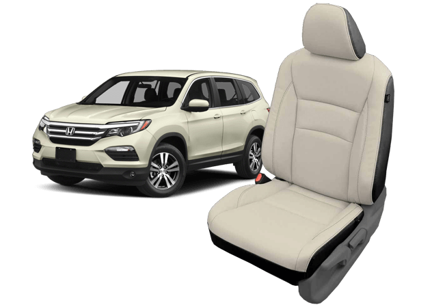 Honda Pilot leather seats