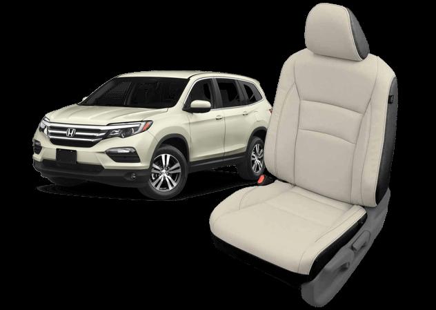 Honda Pilot leather seats