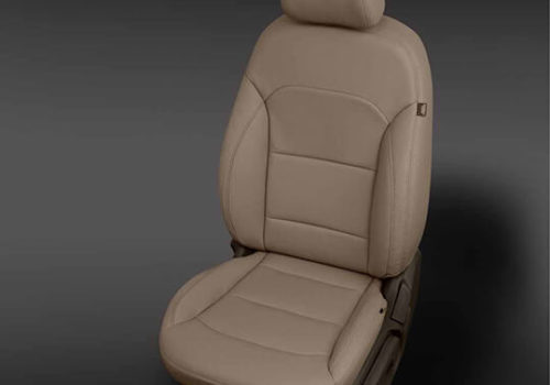 Hyundai Elantra Tan Leather Seat