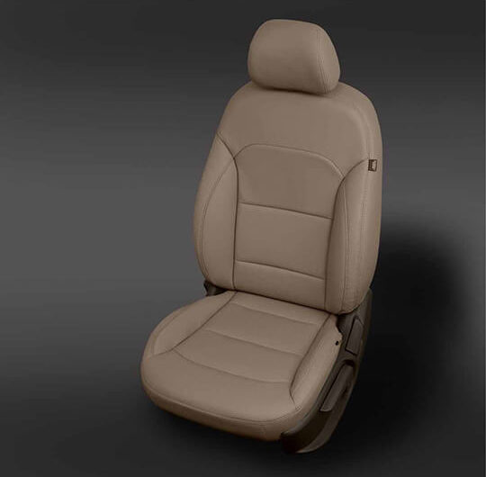 Hyundai Elantra Tan Leather Seat