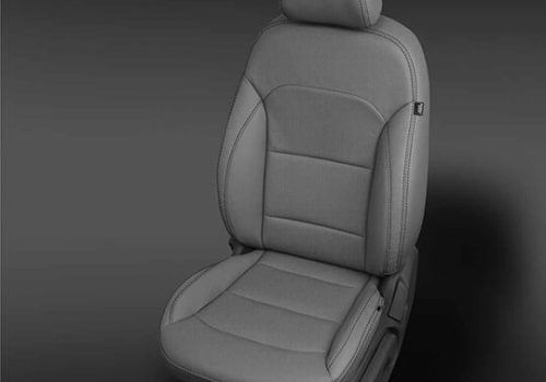 Hyundai Elantra Grey Leather Seat