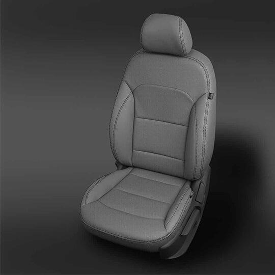 Hyundai Elantra Grey Leather Seat