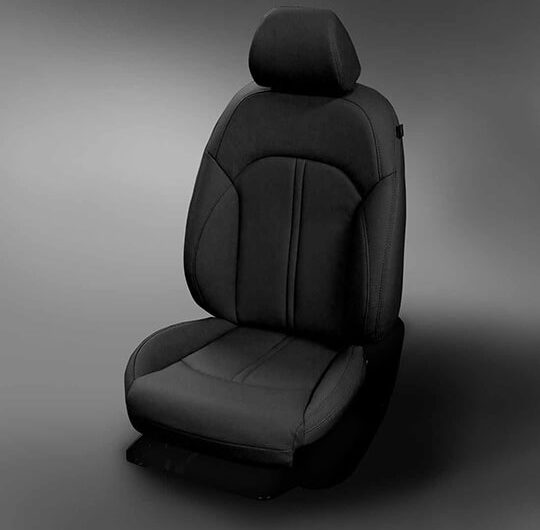 Kia Optima Black Leather Seat
