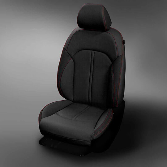 Kia Optima Dark Grey Leather Seat