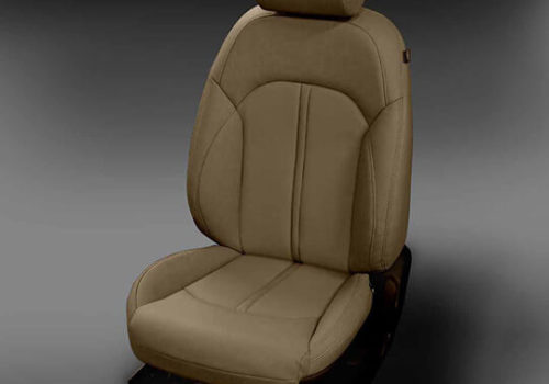Kia Optima Tan Leather Seat