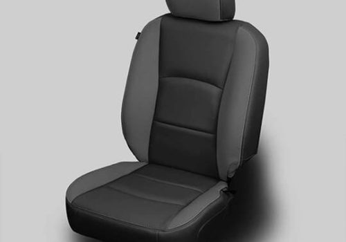 Ram 2500 Black Leather Seat