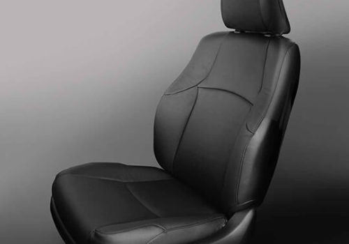 Toyota 4Runner Black Leather Seat