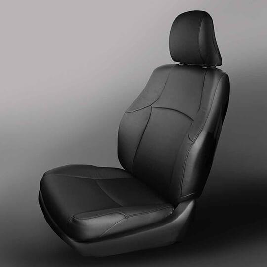 Toyota 4Runner Black Leather Seat