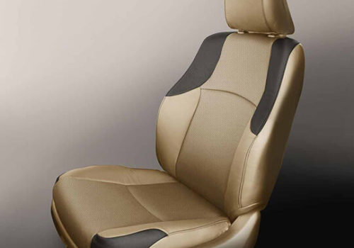 Toyota 4Runner Gold and Black Leather Seat