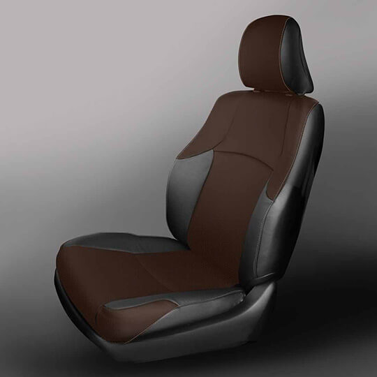 Driver Bottom Synth Leather Seat Cover Gray For 2003 2004 Toyota 4Runner Limited