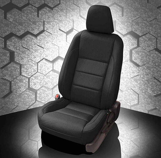 Toyota Corolla Black Leather Seat
