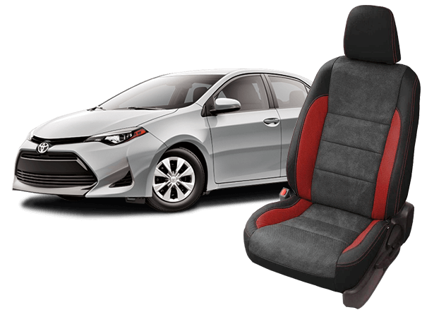 Toyota Corolla Seat Covers Leather Seats Replacement Seats Katzkin
