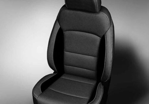 Chevy Cruze black & gray leather seats