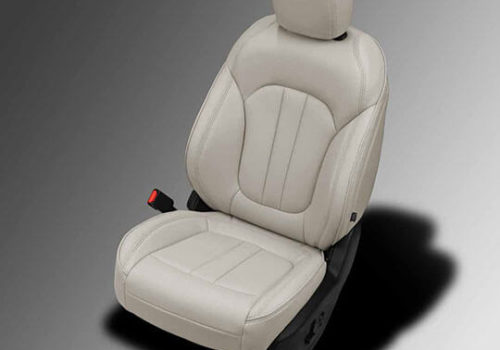 Chrysler 200 beige leather seats