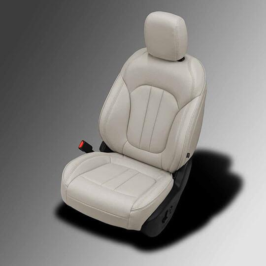 Chrysler 200 beige leather seats