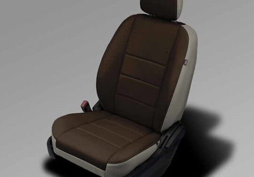 Dodge Caravan leather seats