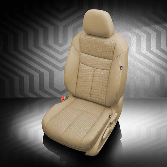 Nissan Murano tan leather seats