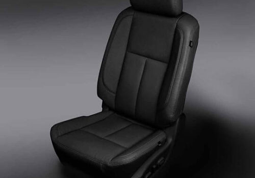 Nissan Titan Black leather seats