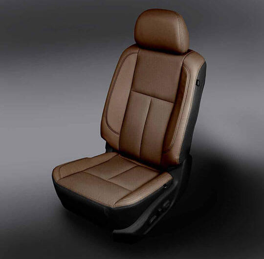 Nissan Titan Tan leather seats