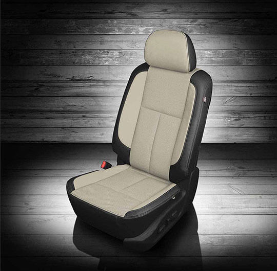Nissan Titan White leather seats