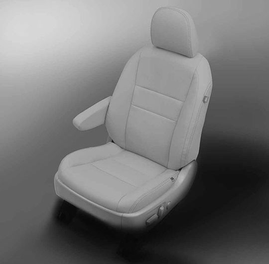 Toyota Sienna White Leather Seats