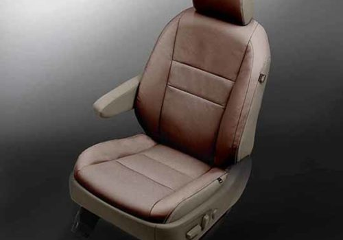 Toyota Sienna Brown Leather Seats