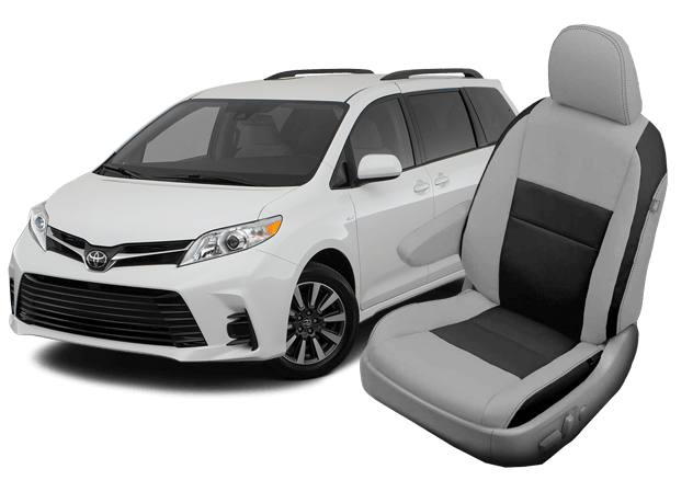 toyota sienna seat covers 2009 2020 leather seats interior katzkin toyota sienna seat covers 2009 2020