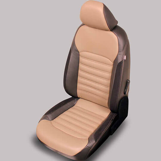 VW Passat leather seats