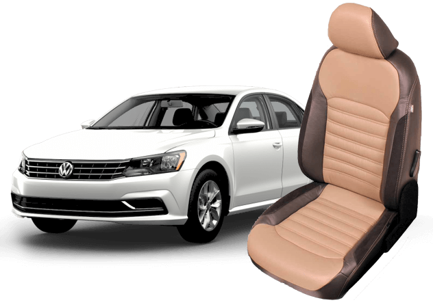 VW Passat leather seats