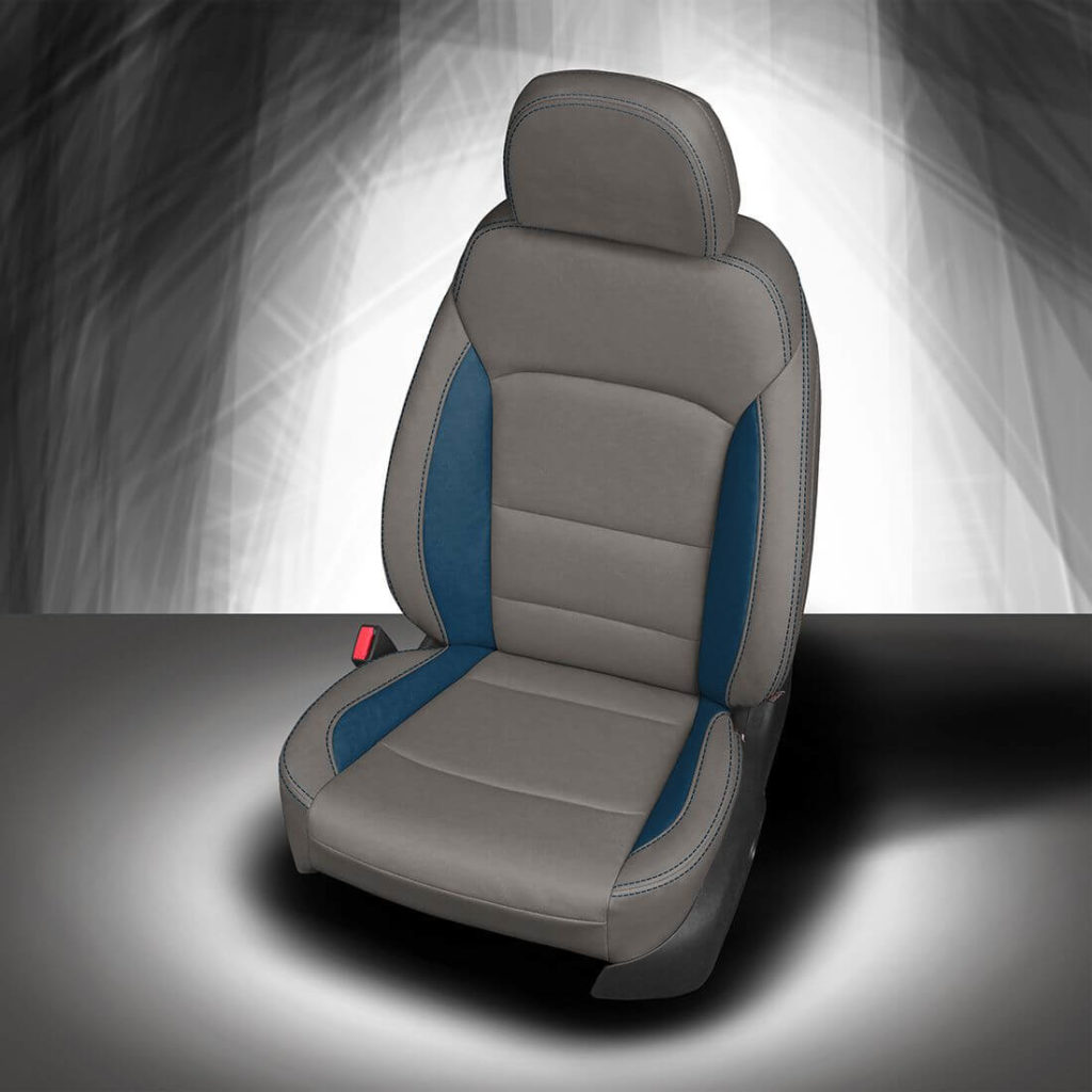 Chevy Malibu Grey Leather Seat