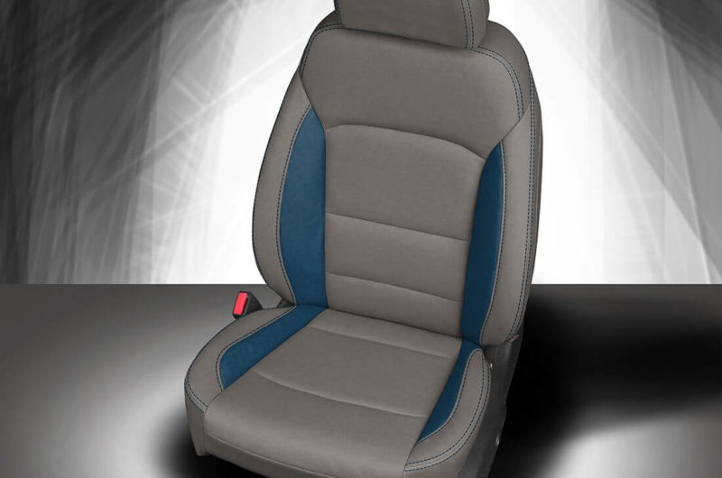 Chevy Malibu Grey Leather Seat