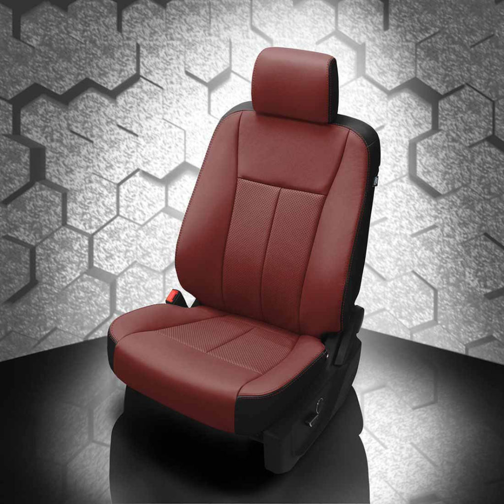 Ford Expedition Red Leather Seat