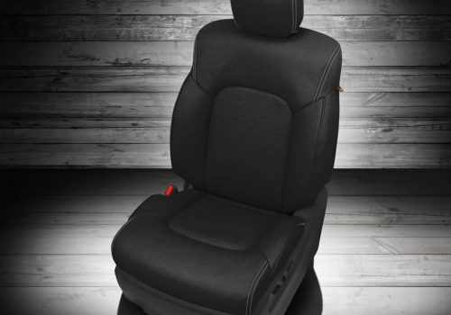 Nissan Armada Black Leather Seat