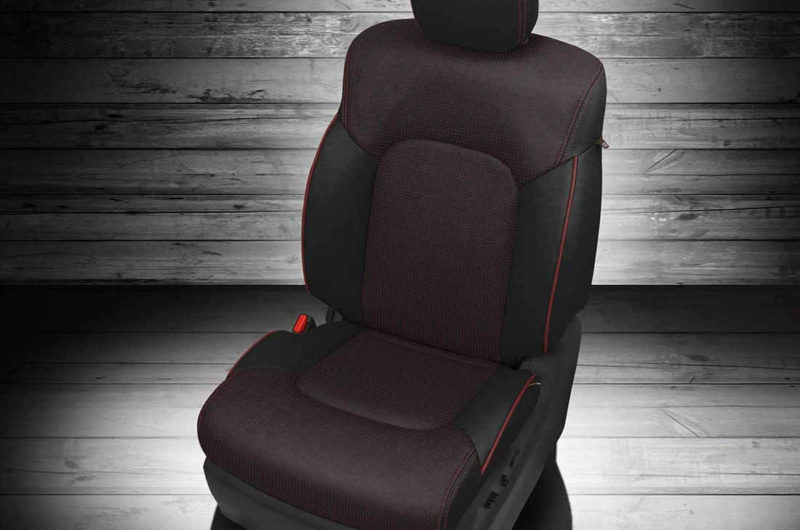 Nissan Armada Dark Leather Seat