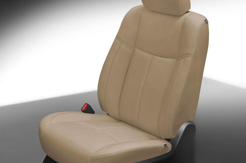 Nissan Pathfinder Tan Leather Seat
