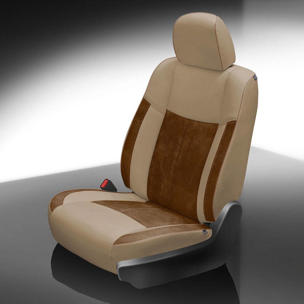 Nissan Pathfinder Brown Leather Seat
