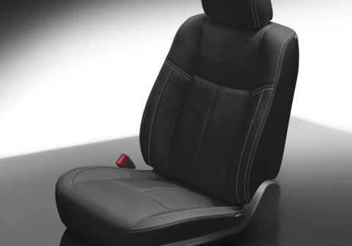 Nissan Pathfinder Black Leather Seat