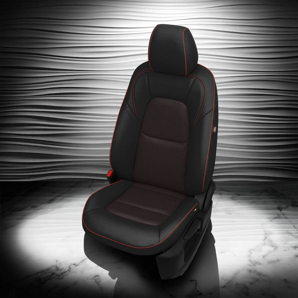 Mazda CX-5 Black Leather Seat Covers