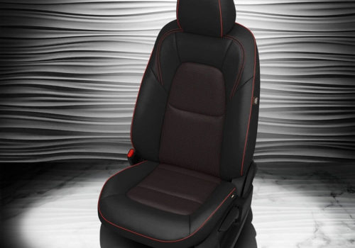 Mazda CX-5 Black Leather Seat Covers