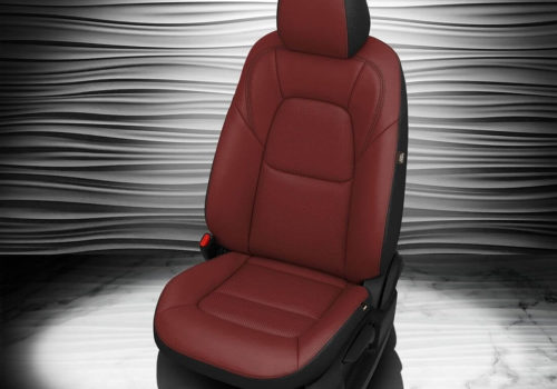 Mazda CX-5 Red Leather Seat Covers